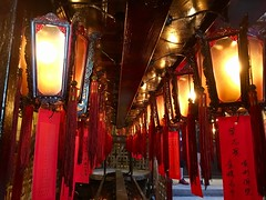 Man Mo Temple - Hong Kong (cattan2011) Tags: 香港 streetpicture streetphoto streetphotography streetart traveltuesday travelphotography travelbloggers travel hongkong manmotemple temple lights lamps landscapephotography landscape