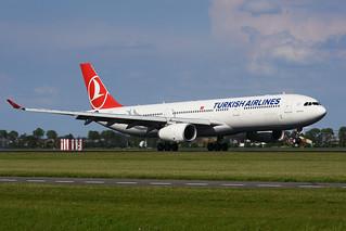 TC-JNO Airbus A330-343E EHAM 20-05-17