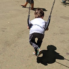 IMG_20180818_125216_651 (earthdog) Tags: 2018 needstags needstitle googlepixel pixel androidapp cameraphone moblog playground sanjose willowglen scooter