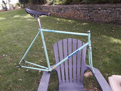 1980's Bianchi Pista track frame (Wannalancit Vintage Bicycles) Tags: bicycle bianchi italy track columbus steel