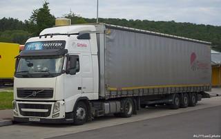 Volvo FH13 Globetrotter Girteka (RUS)