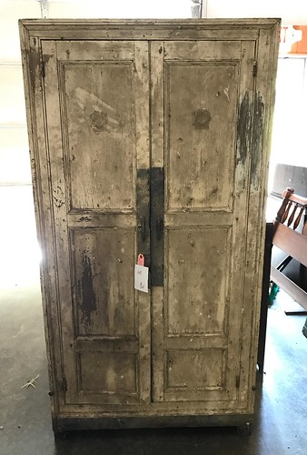 White Blind-Door 3-Panel Cupboard ($504.00)