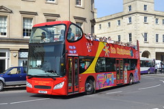 Bath Bus Company 702 WO14OFV (Will Swain) Tags: bath 21st april 2018 bus buses transport travel uk britain vehicle vehicles county country england english south west city centre company 702 wo14ofv