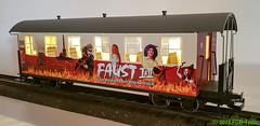 Train Line 3530721 - Faustwagen II (Stefan's Gartenbahn) Tags: hsb faust faustwagen 900483 rockoper brocken harz kgbw gartenbahn personenwagen trainline trainlinegartenbahnen 3530721 3530722
