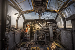 If the sky is the limit, then GO there (Marco Bontenbal (Pixanpictures.com)) Tags: nikon d750 tamron 1530 lost abandoned decay decayed world europe exploring eu urbex urban ue urbanexploring airplane aircraft naturallight hidden copilot cockpit beautiful photography pixanpictures france freedom forgotten old technology history