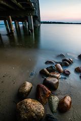 Frozen Rocks (Evan's Life Through The Lens) Tags: camera sony sonya7rii filters nisi nisifilters longexposure water ocean sunset goldenhour beautiful vibrant
