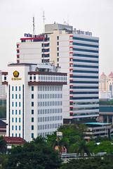 Wisma Antara + ESDM (Ya, saya inBaliTimur (leaving)) Tags: jakarta building gedung architecture arsitektur office kantor