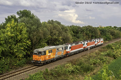 2018.09.04 | 2143 005-4+1014 014-3+1014 002-8+1014 011-9 | Biharkeresztes (Davee91) Tags: 20180904 | 2143 00541014 01431014 00281014 0119 öbb sissi loks electric locomotive lokzug rts railtransportservice trenuri mozdonyvonat vasút vonatok biharkeresztes