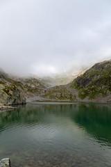 Brume sur le Lac Blanc (S. Torres) Tags: landscape paysage montagne mountain lac blanc hautesavoie chamonix france rhônealpes alpes alps frenchalps