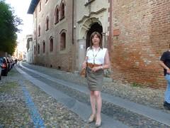Pavia - Via S. Martino (Alessia Cross) Tags: crossdresser tgirl transgender transvestite travestito
