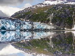 Glacier Bay (My Americana) Tags: glacierbaynationalpark glacierbay nationalpark margerieglacier margerie np glacier scenic landscape reflection alaska ak