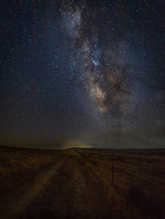Trails End (pasotim1) Tags: night milkyway astrophotography timbryan pasorobles dramatic