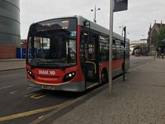 DIAMOND 21107 BU12LJV - ADL Enviro 200 (MW0121) Tags: rotala westmidlandsbus moorstreet bullring selfridges parkstreet birminghamcitycentre 50 bu12ljv centralbuses redditch