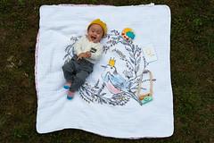 12 months old! (jojoannabanana) Tags: 3652018 baby birthday camera firstbirthday family happy handmade hearts love portrait