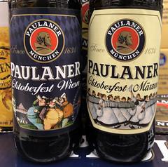 Paulaner Oktoberfest Wiesn Ale and Oktoberfest Märzen - Munich Germany (mbell1975) Tags: münchen paulaner oktoberfest wiesn ale marzen munich germany bier beer pivo øl cerveza birra cerveja piwo bira bière biere märzen