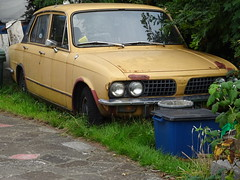 1977 Triumph Dolomite 1500 HL Auto (Neil's classics) Tags: vehicle abandoned 1977 triumph dolomite 1500hl