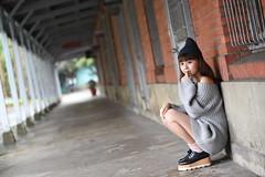 蕙羽1005 (Mike (JPG直出~ 這就是我的忍道XD)) Tags: 小羽 台灣大學 鍾蕙羽 june nikon d750 model beauty 外拍 portrait 2017