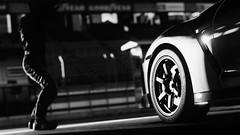 GT-R Nismo (nuvoIari) Tags: projectcars2 videogame bw blackandwhite nissan gtr nismo modernsupercars racetrack pitcrew