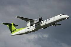 YL-BAJ | DHC-8-402Q | Air Baltic (cv880m) Tags: oslo gardermoen osl aviation airliner airline aircraft airplane propliner propeller ylbaj dhc8 dh8 dash8 dhc8400 q400 baltic riga airbaltic canada dehavilland latvia