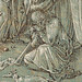 DÜRER Albrecht (Ecole) - Crucifixion (drawing, dessin-Louvre INV18640) - Detail 251