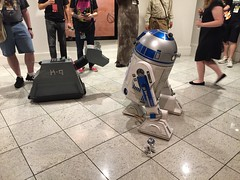 K-9 and R2-D2s (marakma) Tags: k9 r2d2 robots droids starwars doctorwho dragoncon dragoncon2018 cosplay