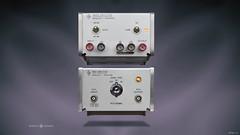 hp 461A and 465A render wallpaper (jeffpeletz@bell.net) Tags: hewlettpackard hp465a hp461a amplifier vintage testgear desktop wallpaper