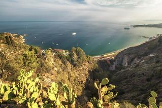 Baia di Giardini Naxos - Taormina (Italy)