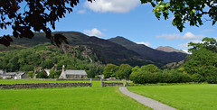 Beddgelert, Gwynedd, North Wales (Blue Sky Pix) Tags: beddgelert gwynedd northwales snowdonianationalpark holidays sunshine church beautiful scenic mountainrange walking pentax drystonewalls feelslikehome