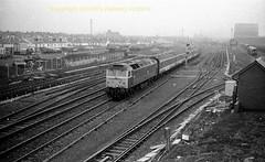Falkland yard Stranraer-Glasgow mid 80's s167 (Ernies Railway Archive) Tags: falklandyard sealink gswr lms scotrail