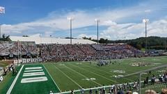 Peden Stadium (dankeck) Tags: stadium football athletics bobcats ohiouniversity athens athensohio game crowd stands bleachers field