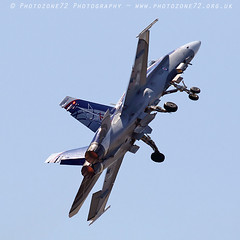 0741 Canadian F18 (photozone72) Tags: yeovilton yeoviltonairday airshows aircraft airshow aviation jets canon canon7dmk2 canon100400f4556lii 7dmk2 canadian f18 f18hornet hornet