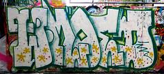 graffiti in Haarlem (wojofoto) Tags: haarlem nederland netherland holland graffiti streetart wojofoto wolfgangjosten hetlandje hof throws throwups throw throwup wmoed weemoed