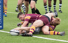 Preston Grasshoppers 31 - 36 Sedgley Tigers September 22, 2018 32007.jpg (Mick Craig) Tags: 4g sedgleytigers action hoppers prestongrasshoppers agp preston lightfootgreen union fulwood upthehoppers rugby lancashire rugger sports uk