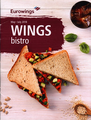 Wings bistro May-July 2018, Eurowings (World Travel Library - collectorism) Tags: eurowings wingsbistro 2018 food eating gastro sandwich frontcover aviation library center worldtravellib papers prospekt catalogue katalog fluggesellschaften compagnie aérienne compagnia aerea légitársaság شركةطيران 航空会社 flug airtransport transport holidays tourism trip vacation photos photo photography pictures images collectibles collectors collection sammlung recueil collezione assortimento colección ads online gallery galeria documents dokument broschyr esite catálogo folheto folleto брошюра broşür