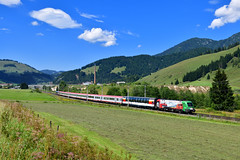 "1116 159 ""ÖBB"" Hochfilzen (Matthias Greinwald) Tags: 1116 159 werbelok brennerbahn jubiläum 150 jahre personenzug zug hochfilzen transalpin"