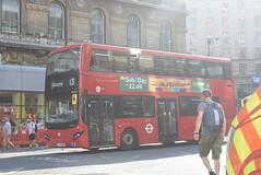 TT MV38210 @ London Victoria bus station (ianjpoole) Tags: tower transit volvo b5lh mcv evoseti lj17wro mv38210 working route 13 north finchley bus station london victoria