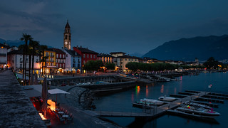 Blue hour in Ascona