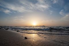 Sunset Kos #1 (Photofux) Tags: kos sea sunset greece sun waves sand beach holiday urlaub sonnenuntergang griechenland