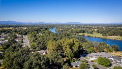 Sacramento River From 200 Feet (ronWLS) Tags: dji drone aerial sacramentoriver redding northerncalifornia