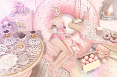 Pink Overload (Gabriella Marshdevil ~ Trying to catch up!) Tags: sl secondlife cute kawaii doll lagom mossmink monso sorumin tentacio halfdeer mishmish