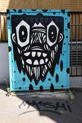 Little Monkey (HBA_JIJO) Tags: streetart urban graffiti paris art france hbajijo painting peinture portrait spray moyoshi urbain coffret armoire