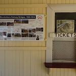Gayndah. The old railway ticket office in the railway station. thumbnail