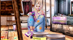 LOTD 472 (Melly Clarrington) Tags: belleza exile vanity scandalize static izzies foxcity drd treschic trompeloeil lotd sl sllooksgoodtoday slfashion houseofshade