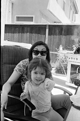 My wife and niece (edwardcgonzales) Tags: canon canonet canonetql17giii kodak kodaktmax kodaktmax400 tmax tmax400 bnw blackandwhite film 35mm