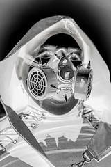 MeraLuna_2018 (57) (uwesacher) Tags: kostüm porträt personen himmel mera luna 2018 hildesheim flughafen sonne wolken mèraluna niedersachsen bw sw