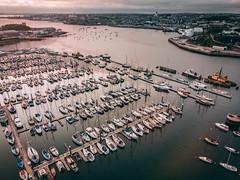 DJI_0188 (tom_acton) Tags: plymouth devon turnchapel mayflower mayflowermarina sea water boats mountbatten ocean