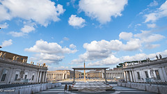 Misa con el Papa mañana...... Mass with the Pope tomorrow (Xacobeo4) Tags: saint peters square arquitecture vatican rome