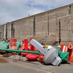 Ecluse fortifiée de la Base Sous marine allemande de La Pallice, la Rochelle thumbnail