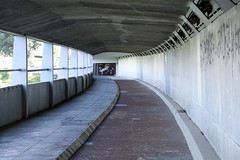 """Went back to Mangere this weekend to walk the """"new"""" bridge suspended walkway/cycleway underneath that I never knew existed! (christineNZ2017) Tags: mangerebridge manukaumotorwaycrossing manukau harbour walkway sharedwalkway cycleway pedestrian auckland newzealand southauckland onehunga"""