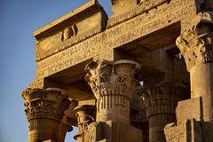 Temple of Kom Ombo (Luca Ranghetti) Tags: temple kom ombo crocodile nile cruise river sunset egypt egyptian summer